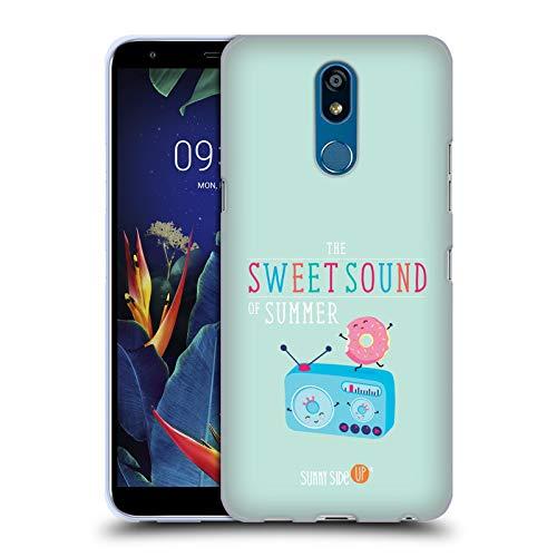 Head Case Designs Offizielle Muy Pop Radio Sonnige Seite Hoch Sommer Soft Gel Huelle kompatibel mit LG K40 / K12 Plus K40 Radio
