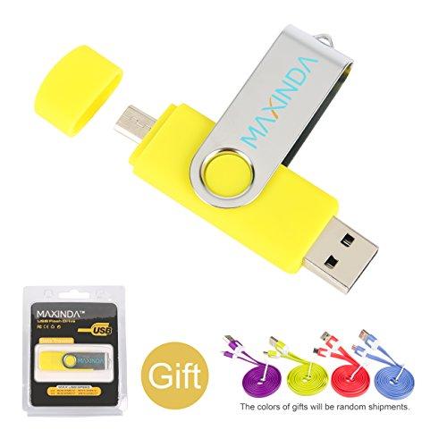 8GB/16GB/32GB/64GB Flash Drive de USB OTG 32 GB amarillo