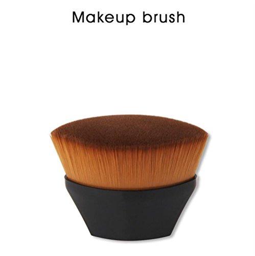 EEvER Augen Make-up Lidschatten für Anfänger Erröten Gesicht Cheek Contour Foundation Puderpinsel BB Creme Pinsel Make-up-Tool (Farbe : Black) -
