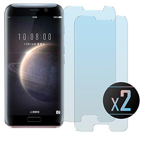 2 x Huawei Honor Magic Panzerglasfolie, NEVEQ® Schutzfolie aus hochwertigem gehärtetem Glas für Huawei Honor Magic (5.09in) Zoll-Display, 9H-Härte Displayfolie.