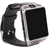 Universal MTK6260A Bluetooth Smart Watch with Camera & SIM Slot (Black)