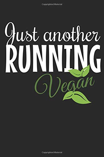 Just Another Running Vegan: A 6x9 dotgrid notebook for your workouts por Vegan Living
