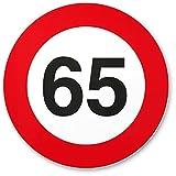 DankeDir! 65. Geburtstag Kunststoff Schild (20 x 20 cm), Geschenk 65. Geburtstag Bester Freund/Freundin, Geschenkidee Geburtstagsgeschenk 65ten Geschenk 65er Geburtstagsparty
