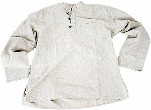 Preisvergleich Produktbild BUDDHA arts&more Kurta-Fishermanhemd (M, natur)