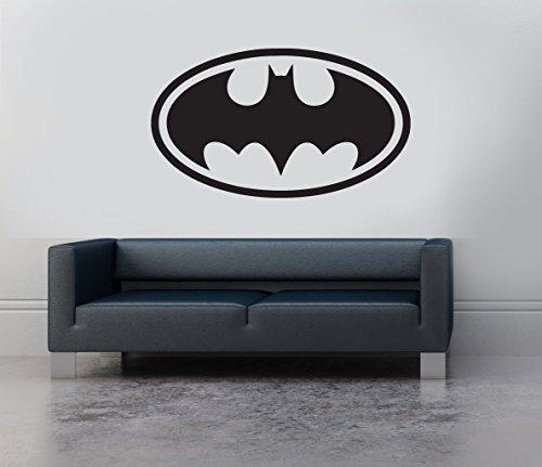 batman-logo-symbol-emblem-vinyl-wall-art-sticker-decal-mural-transfer-childrens-bedroom-stencil-blac