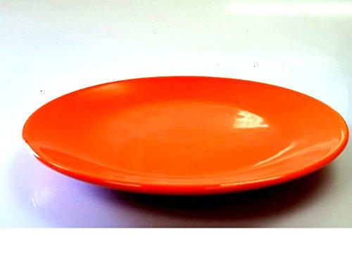 Furtwängler Vorspeisenplatten Serviergeschirr Platten in orange 21 cm 3er Set