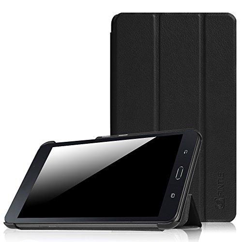 Tab 4 7 Tablet Galaxy Samsung (Samsung Galaxy Tab A 7.0 Hülle - Ultra Schlank Superleicht Ständer Slim Shell Case Cover Schutzhülle Etui Tasche für Samsung GALAXY Tab A 7.0 Zoll SM-T280 / SM-T285 Tablet (2016 Version), Schwarz)