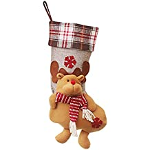 Oshide Cute Boots Schuhe Socken Weihnachtsurlaub Strumpf Geschenkbeutel Santa Festival Party Baum Dekoration Hängende Ornamente