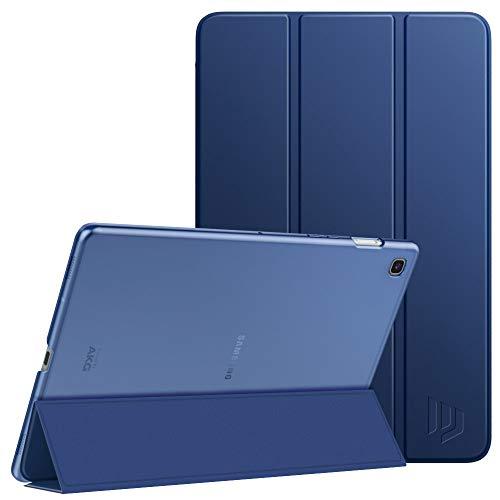 Dadanism Schutzhülle Kompatibel mit Samsung Galaxy Tab S5e 2019, Transluzente TPU Rückseite Tablet Hülle mit Magnetischverschluss Cover Ersatz für [SM-T720(Wi-Fi) / SM-T725(LTE) 10.5