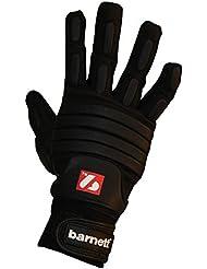 FLG-03 gants de football américain de linemen pro, OL,DL, Noir