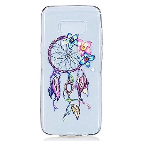 MUTOUREN TPU coque pour Samsung Galaxy S8 Plus silicone transparent