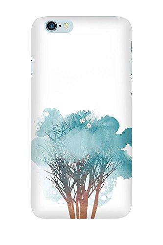 iPhone 4/4S Coque photo - arbre Aquarelle