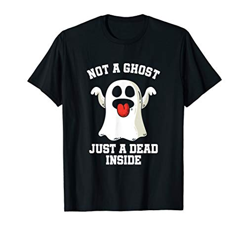 Lustig Halloween Ghoul Kein Geist Nur Ein Toter im Inneren T-Shirt (Geister Ghouls Halloween Und)