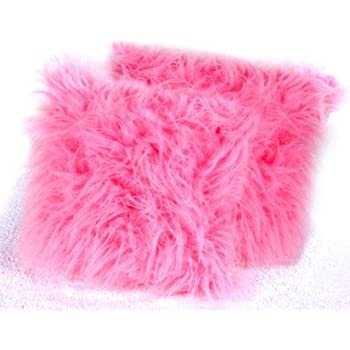 pink fluffy cushion covers kitchen home. Black Bedroom Furniture Sets. Home Design Ideas