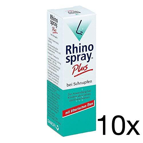 Rhinospray Plus 10 x 10 ml Sparset inklusive einer Handcreme von vitenda.de
