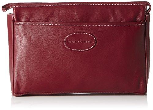 Bruno Banani Wash_bag_2 C 320.837 Unisex-Erwachsene Handgelenkstaschen 31x20x9 cm (B x H x T) Rot (Rot)