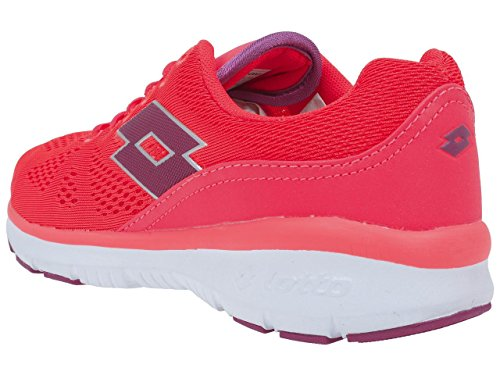 Lotto Ariane IV Amf W, Chaussures de Running Entrainement Femme, Multicolore Rose (pivoine)