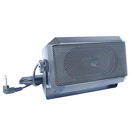 VECTORCOM Altavoz externo de 5W, con conector de 3,5mm, rectangular, para radioaficionados,...