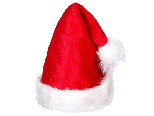 Weihnachtsmützen Nikolausmützen der pure Luxus kuschelweich , Weihnachtsmütze wählen:wm-91 plüsch (Kostüm Pere Noel)