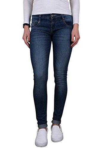 Toni Ellen Ultimate Soft Deep T614 Damen Jeans Hüftjeans Slim Fit Skinny Hose Gr. 38/L28