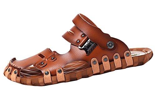Y-BOA Chaussure Mule Tongs Homme Unisexe Sandale Plage Piscine Été Sabots Casual Beach