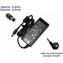 """Cargador de portátil Sony Vaio PCG-7V2M PCG-7X1M PCG-7Y1M PCG-7Z1M PCG-7Z2M Alimentación, adaptador, Ordenador Portatil transformador - Marca """"Laptop Power""""® (12 meses de garantía y cable de alimentación europeo incluido)"""
