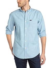 Lee - Camisa de manga larga para hombre