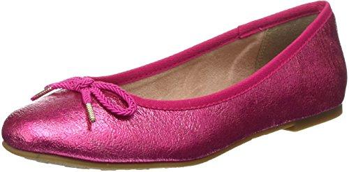 Tamaris Damen 22123 Ballerinas, Rosa (Pink Crack), 40 EU