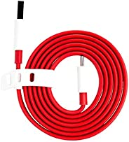 100cm Type-C Dash Fast Charge Data Cable for OnePlus, Red