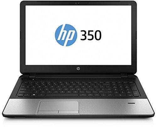 Preisvergleich Produktbild HP 350 G2 (P5T09ES) 39, 6 cm (15, 6 Zoll / HD) Notebook (Intel Core i3-5010U,  4 GB RAM,  500 GB HDD,  Intel HD-Grafikkarte,  Windows 10 Professional) silber / schwarz