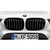 Original BMW frontal Ornamentales rejilla Set M Performance Negro para X1 F48