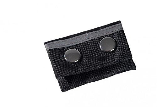 Nylon - Adresstasche, schwarz