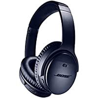 Bose QuietComfort 35 (Series II) Wireless Headphones, Noise Cancelling with Alexa built-in - Midnight Blue