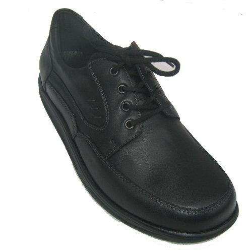 Waldläufer 482007-174-001 Helgo homme chaussures largeur: H Noir