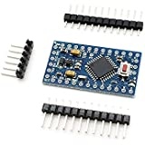 AptoFun 2 pcs Pro Mini ATmega328P Board 5V 16M compatible with Arduino, replace ATmega128 Arduino Compatible Nano