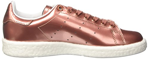 adidas Stan Smith Boost, Sneaker a Collo Basso Donna Rame (Copper Metallic/Footwear White)