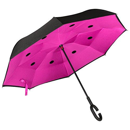Paraguas Invertido. Paraguas Inverso Original Reversible de Colores de