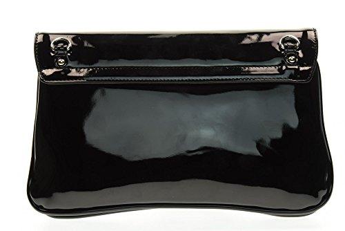 NERO GIARDINI femme avec le sac d'embrayage P743405D bandoulière en métal / 100 Nero