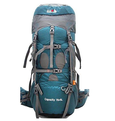6cb9700caa sacchetto di alpinismo uomini e donne borsa a tracolla borsa da viaggio di  grande capienza 75L