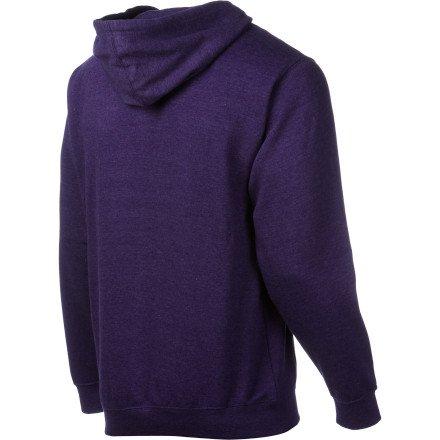 Fallen Insignia - Felpa con cappuccio, da uomo heather purple/black (heather purple/black)