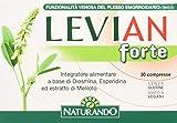 Naturando Levian Forte 30 Compresse - Integratore Alimentare Che Favorisce la Funzionalità del Plesso Emorroidario