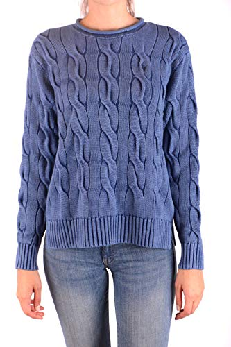 Ralph Lauren Luxury Fashion Damen MCBI35919 Hellblau Sweatshirt | Jahreszeit Outlet