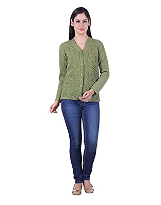 eWools Women's Woolen Lycra Sweater