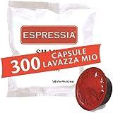 Caffè Espressia Capsule Cialde compatibili Lavazza a modo mio - Miscela Silver, gusto Crema - Confezione da 150-300-600 Pezzi