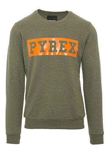 PYREX UNISEX SWEATSHIRT RUNDHALS 33825 Olivgrün