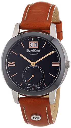 Bruno Söhnle 17-73147-735-Women's Quartz Analogue Watch-Brown Leather Strap