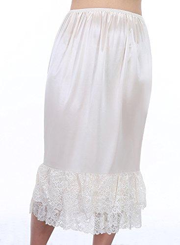 Timormode Unterrock Rock im Kleid Petticoat BrautjungfernKleid Röckchen Elfenbein-C