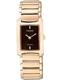 Citizen Damen-Armbanduhr Citizen L Analog Quarz Gold EG2976-57W