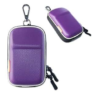 New first2savvv heavy duty purple camera case for FUJIFILM FinePix T400