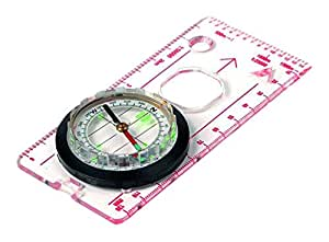 Highlander Deluxe Compass - For Map Reading, Walking & Hiking
